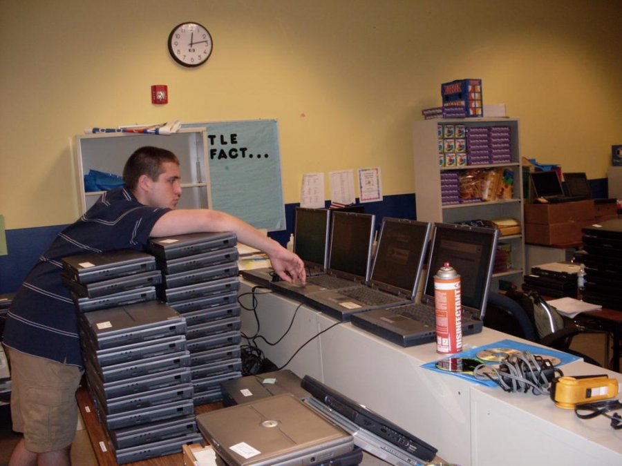 wiring-a-school-and-donating-laptops-for-each-classroom