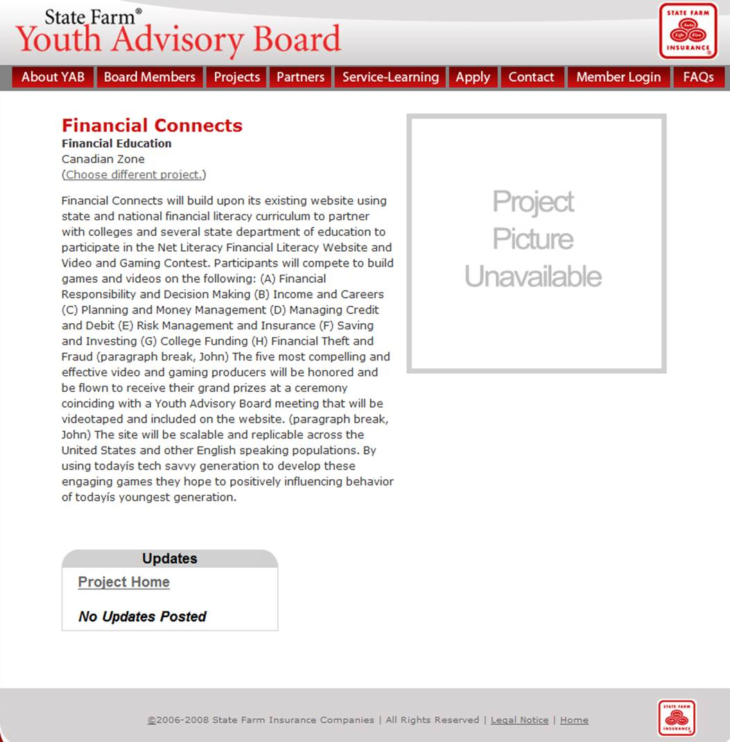 State Farm Youth Advisory Board Financial Connects Announcement