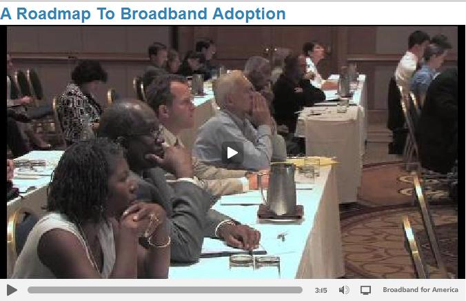 A Roadmap To Broadband Adoption