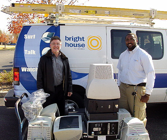 Bright House Networks Delivering Computers