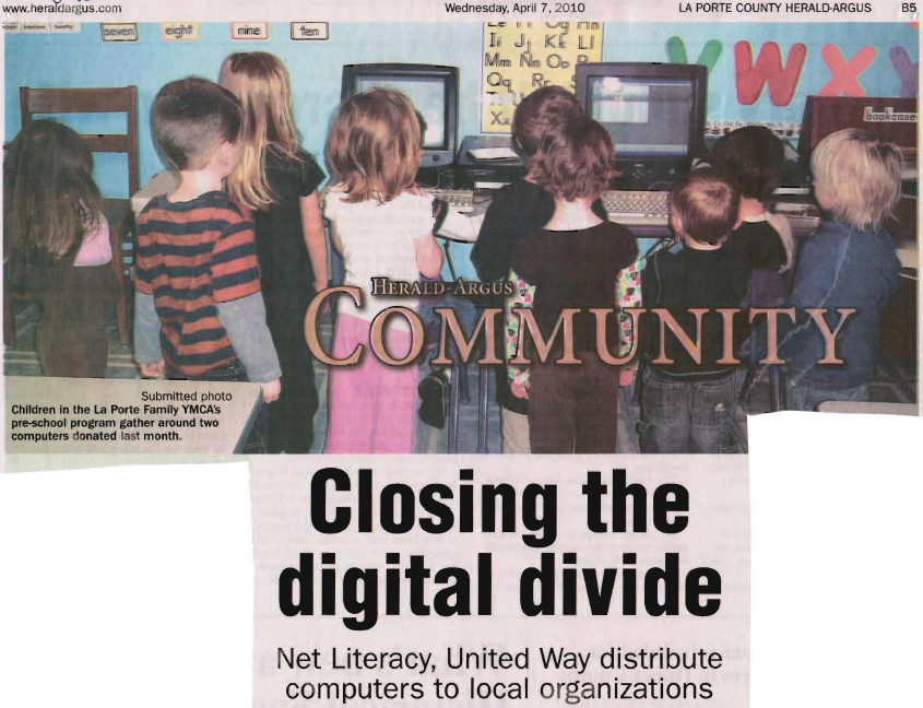 Closing the Digital Divide Header