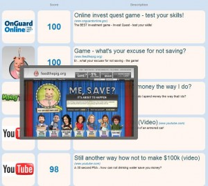 Financial Connects 'Best of Web' has the best videos and games on the Net