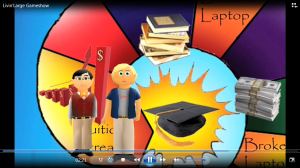 Financial Literacy student created video