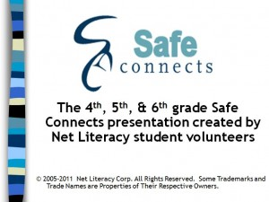 Safe Connects 4-6 Grade Lesson Guide for teens and parents