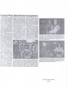 United Way - Net Literacy Program in Posey County