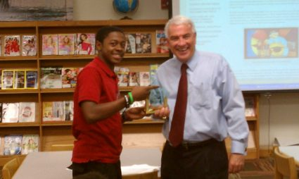 Marvin Bailey Named Net Literacy Hero By Student Board