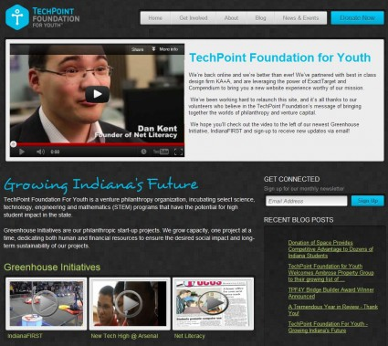 Techpoint Foundation for Youth Website