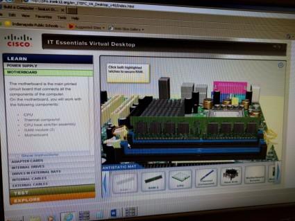 Virtual Computer Assembly Application