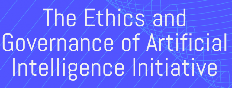 Best on the Internet: Ethics and Governance of Artificial Intelligence Initiative