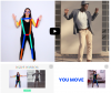 Best of experiments with Google: Move Mirror