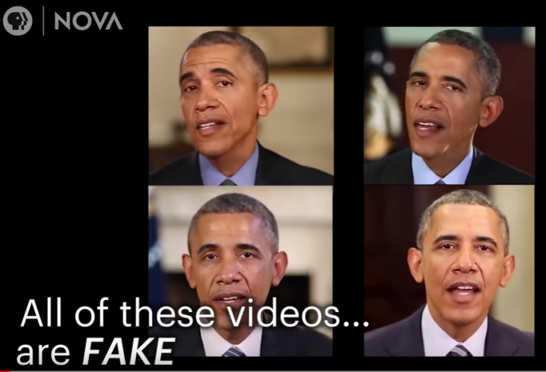 From NOVA PBS: Deepfake Videos Are Getting Terrifying Real!