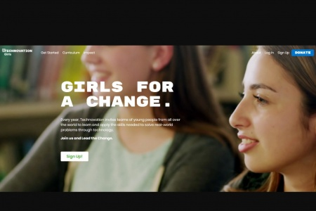 Technovation: free for 8-18 year old girls and young women to learn about technology