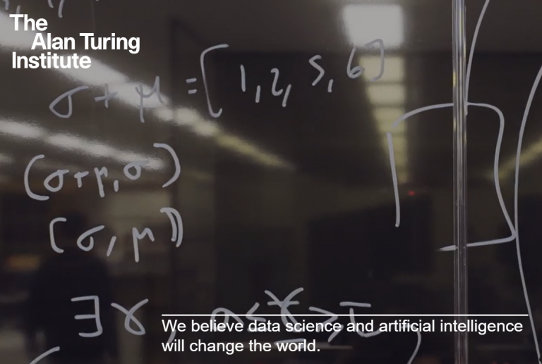 Best on the Internet: The Alan Turing Institute