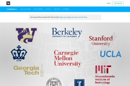 From Medium: The Best Masters Programs in Machine Learning (ML)