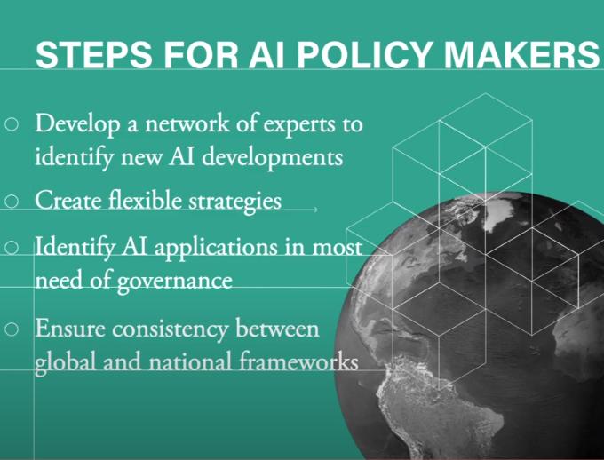 From the Centre for International Governance Innovation: AI and Governance Frameworks