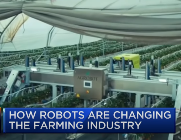 From CNBC: How Robots Are Changing the Farming Industry